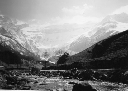 Gavarnie, source of River gave