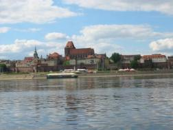 River Vistula in Torun