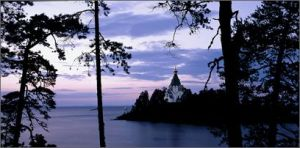 Across Lake Ladoga