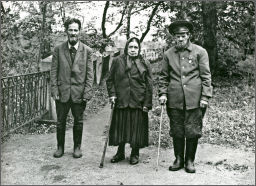 Blind residents on the island