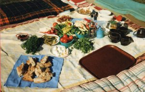 A fresh picnic in the beautiful and still unspoilt Krasnayapolyana 1995