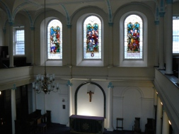 Inside St Thomas's Church