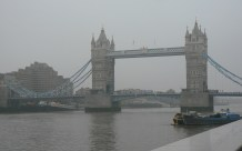 Tower Bridge in the fog