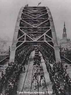 Tyne Bridge Opening 1928