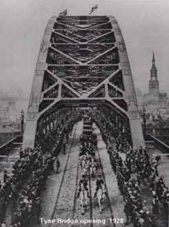 Tyne Bridge Opening 1928