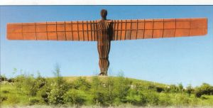 Man of steel, my Angel of the North