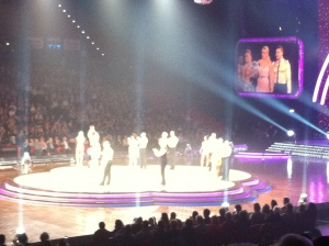Judging time at Strictly Live Show