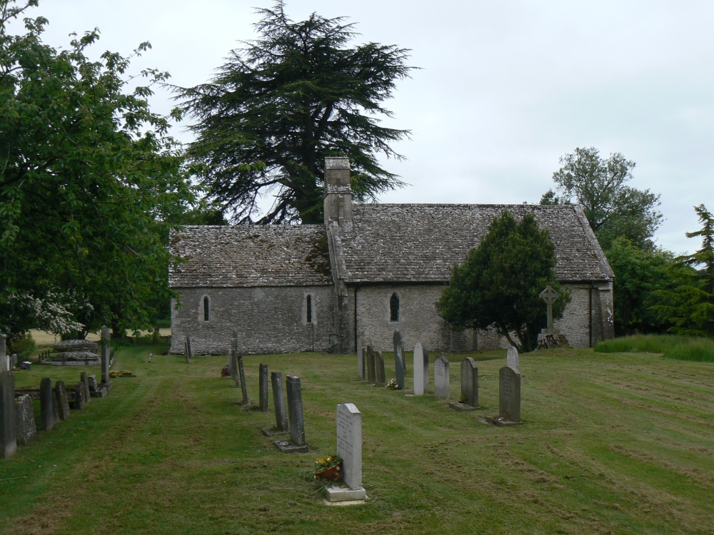 The Ivy Church at Ampney St Mary in the Cotswolds (3/6)