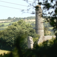 Tin and China Clay Mines in Cornwall