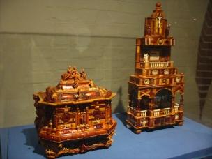 amber caskets