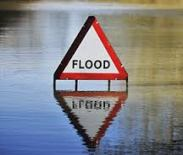 Sadly flood signs appear too often in Cotswolds