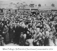 Felling st patricks church inauguration 1950