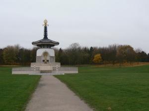 Buddhist temple in Willan, UK