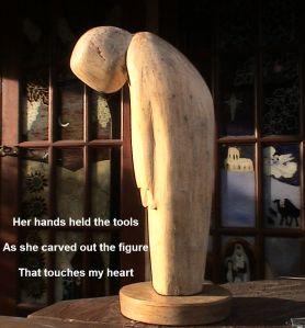 stellas wooden statue 1