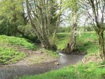 Stream winds its way through Kimbolton