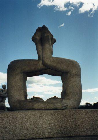 Park Statue in Oslo