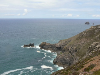 View from Coastal path at St Agnes Head1