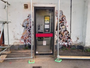 Banksy vandalised