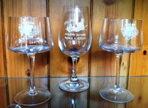 Glass from Vezelay and Anjou