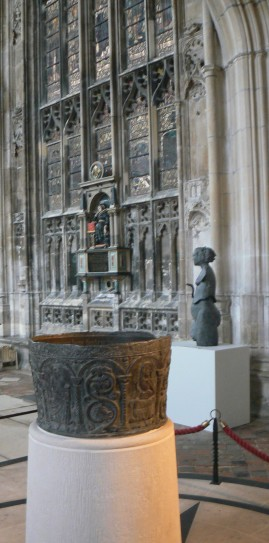 Baptism Font and West of Eden