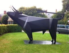 Monumental Steel Bull
