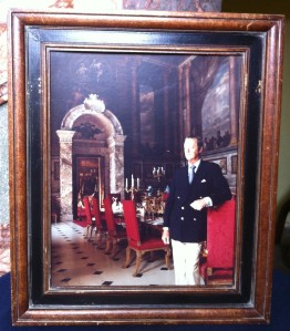 The late 11th Duke of Marlborough