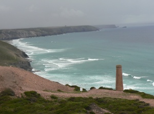 Storm Clouds Gather over Wheal Coates