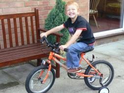 First 2 wheeled bike