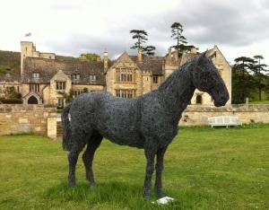 Horse Sculpture at Ellenborough park