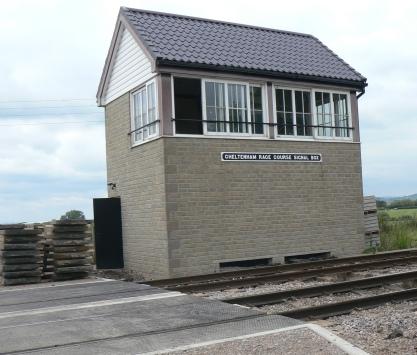 Cheltenham Racecourse Signal Box