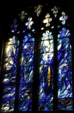 Images from Denny's stained glass window in Gloucester cathedral