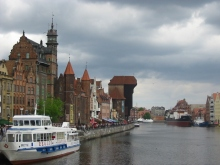 Boats in Gdansk, Poland