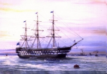 HMS Conway, my great grandfather joined this ship in 1855