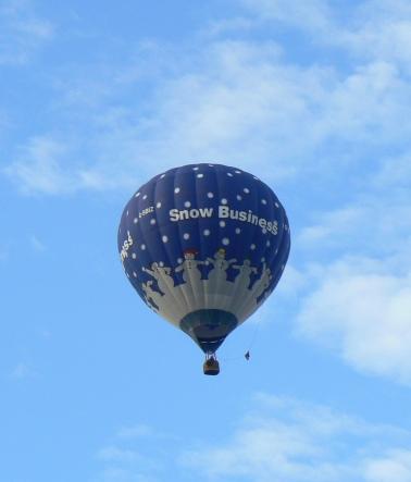 Balloons snow 3