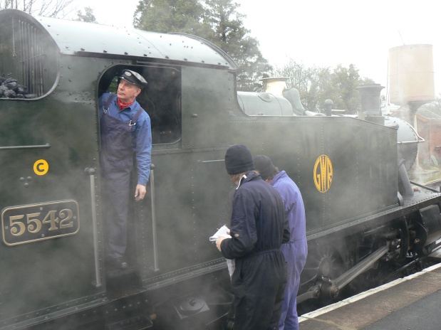 Steam train from everyangle
