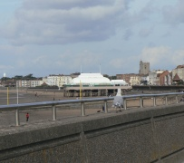 Burnham Seagull and pavilion