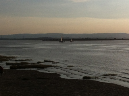 Burnham tide coming in