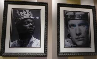 Chuk Iwuji and Geoffrey Streetfeild