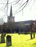 Holy Trinity Church bathed in winter sun1