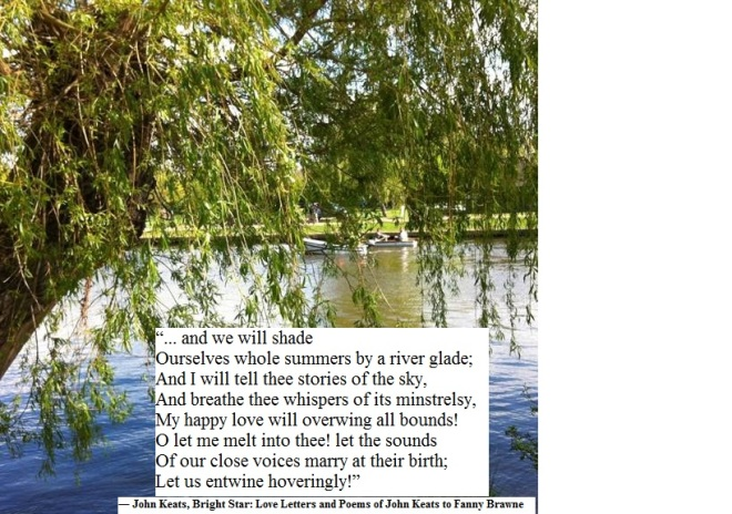 Keats quote on River Avon