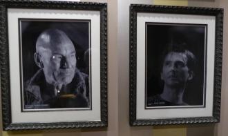 Patrick Stewart and David Tennant