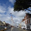 Bridge Street with Flags and Bunting
