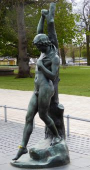 Hermaphroditus Staue