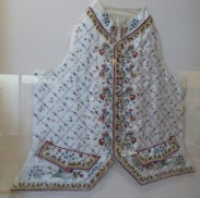 Waistcoat illustrated by Beatrix Potter and faithfully made by ladies of Gloucestershire WI