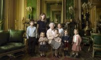 The Queen and her grandchildren