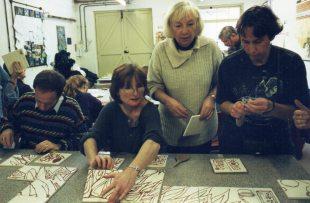 Anne Bate Williams getting us organised