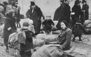 displaced women and children