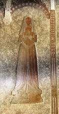 Beautiful brass of merchant's wife