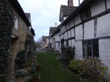 Rear of the FLEECE INN at Bretforton