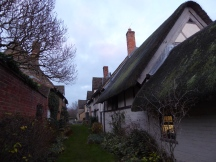 Rear of The Fleece Inn at Bretforton, once home to wool trade